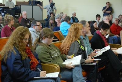 Victory Over Spiritual Conflict seminar attendees