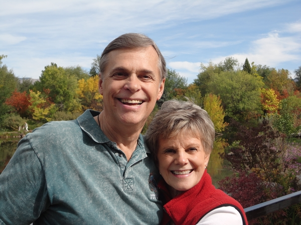 Freedom Encounters Founder Ken Thornberg and his wife Sylvia