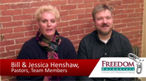 Click this image to watch a testimony video from FE Team Members and Pastors Bill and Jessica Henshaw