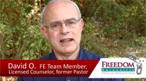 Click this image to watch a testimony video from FE Team Member and Licensed Counselor David Oliver