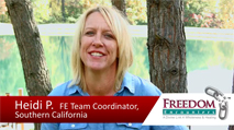 Click this image to watch a testimony video from FE Team Coordinator Heidi Patcheak
