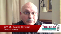 Click this image to watch a testimony video from FE Team Member and Pastor Jim Dickson